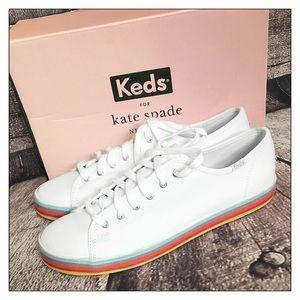 Keds X Kate Spade NY Kickstart Rainbow Sneakers